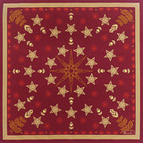Beauvillé, Feerie Red Holiday Tablecloth