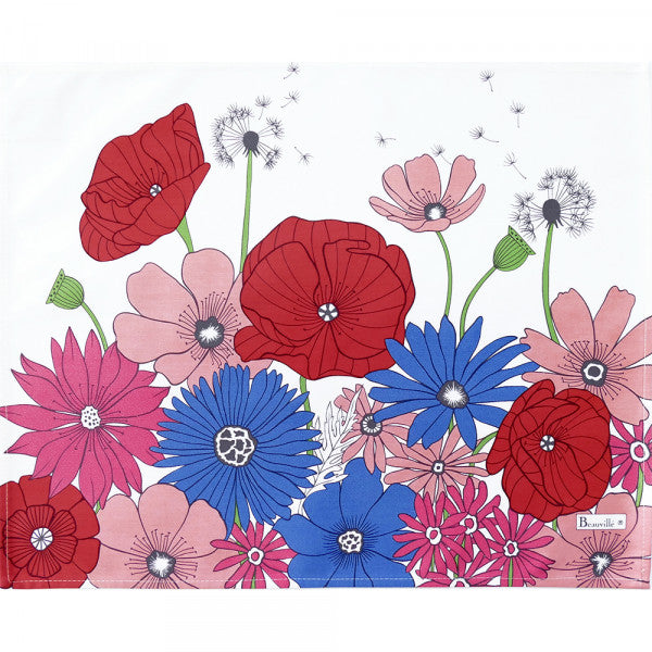 Fleurs de Champs Placemats (Coated / Non Coated)