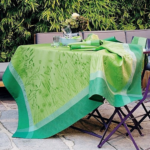 "Champ de Blé, Verdure (Wheat Field) Tablecloth, 69"" x 100"""