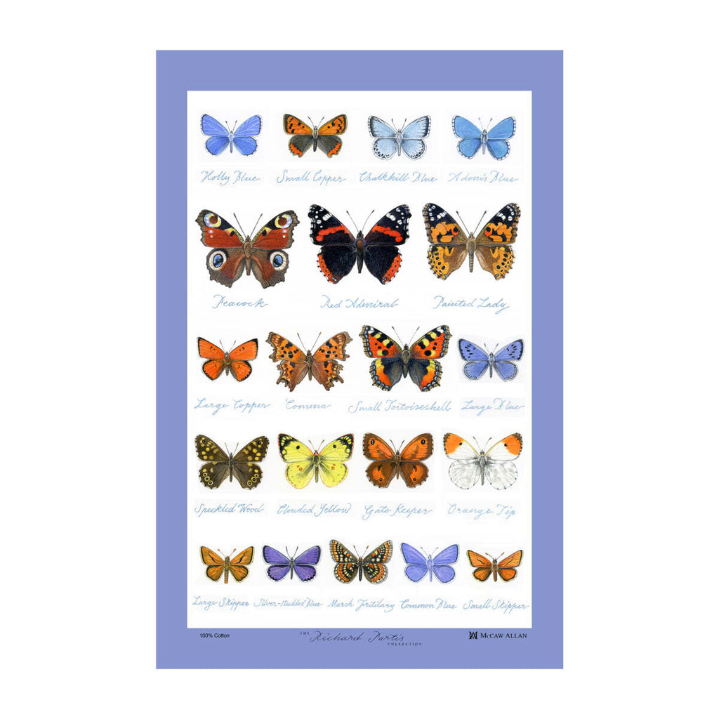Samuel Lamont, Glencoe Butterflies Kitchen / Tea Towel