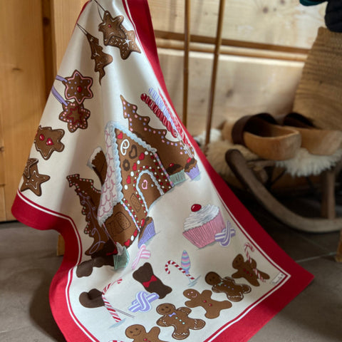 Beauvillé, Gretel Christmas Kitchen / Tea Towel