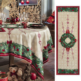 Jour de Fête (Day of Celebration ) Holiday Tablecloth