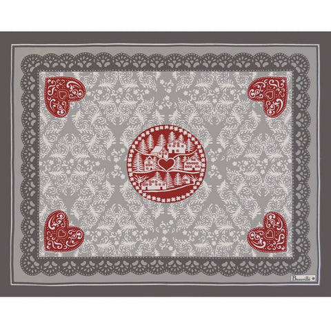 L'Hiver (Winter) Frost Holiday / Christmas Placemats