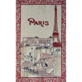 Les Toits de Paris, Grenadine Kitchen / Tea Towel