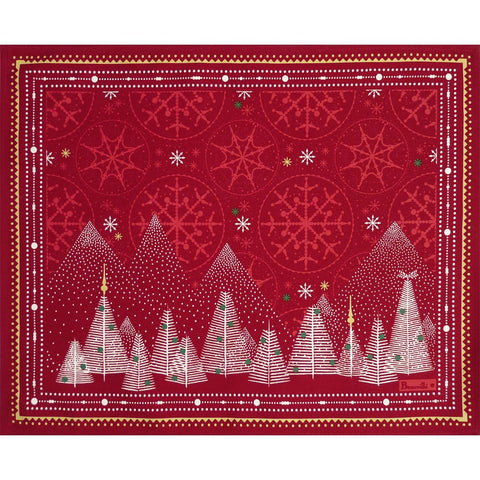 Megève Red Christmas Placemats