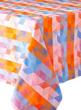 Mille Cubes Dusk Tablecloth, 45