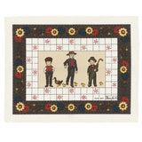 Mon Village, Monsieur & Madame Placemats
