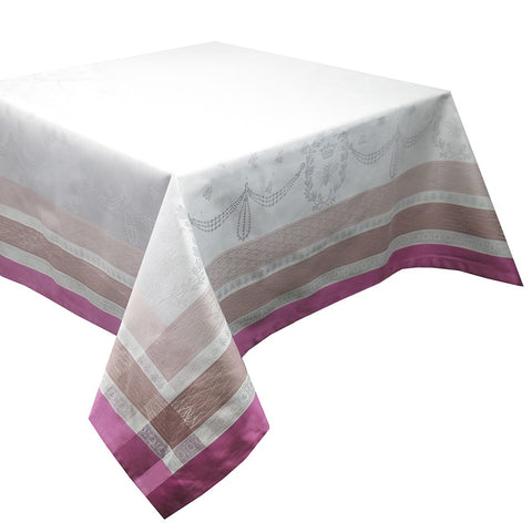 "Abeilles Royales Parme Tablecloth, 69"" x 143"""