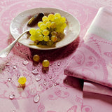 Eugenie Candy Tablecloth, High Thread Count