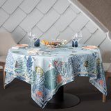 Porquerolles Blue Tablecloth