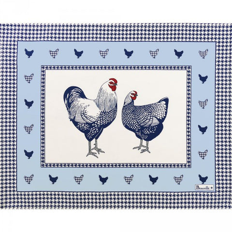 Picoti (Hens), Blue Placemats