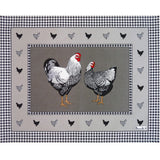 Picoti (Hens), Gray Placemats