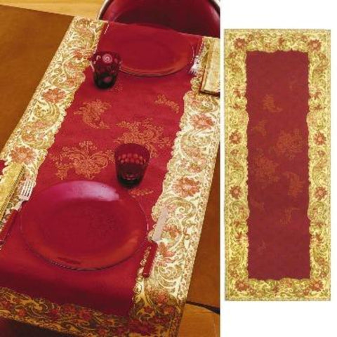 Beauvillé, Ponte Vecchio, Red Table Runner