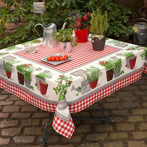Potager (Herb / Vegetable Garden) Tablecloth