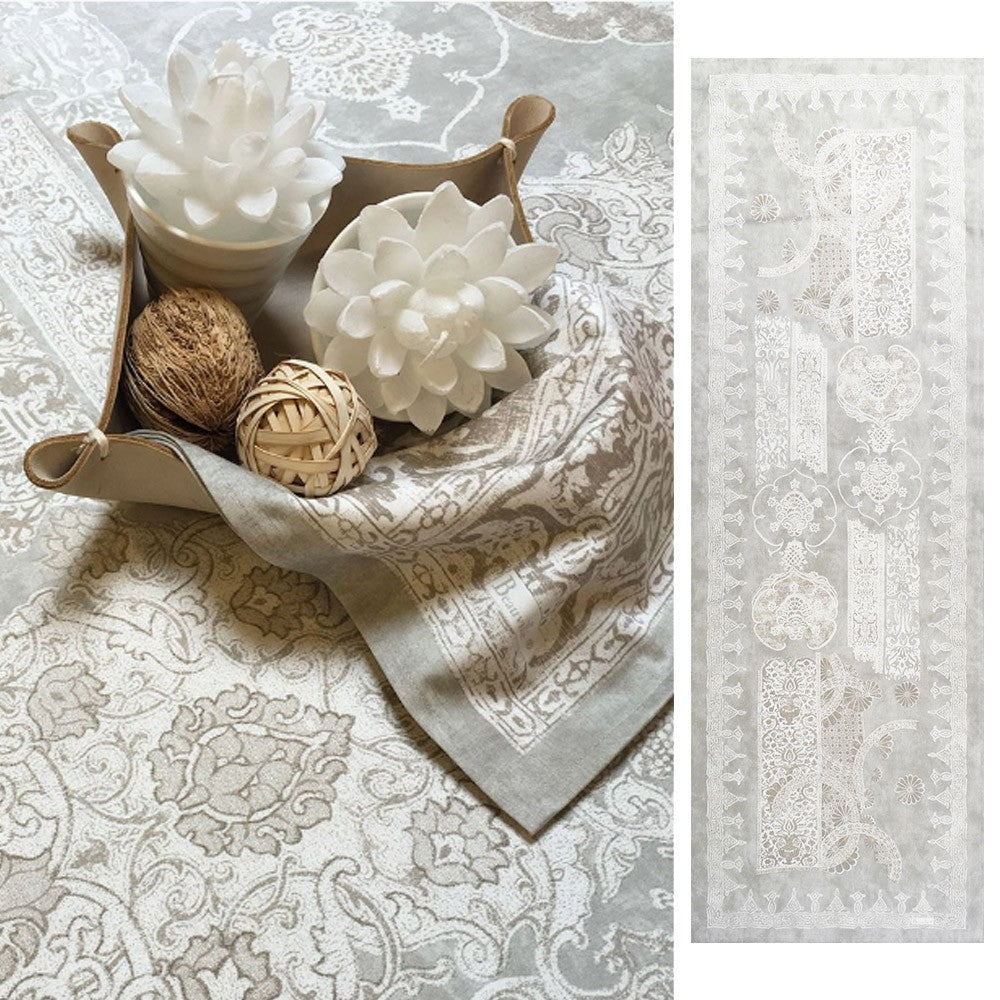 Beauvillé, Rialto Table Runner, Available in 14 Colors