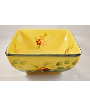 "Souleo, 7"" Square Bowl"