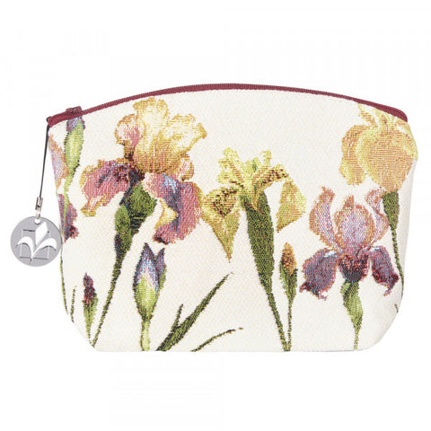 Giverny Mille Fleurs Double-Sided French Tapestry Zippered Case (Pouchette)