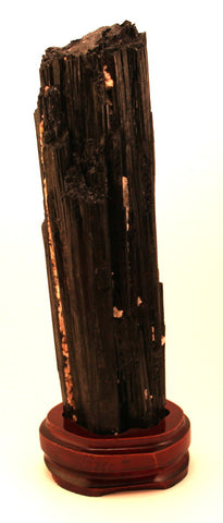 Black Tourmaline With Display Stand