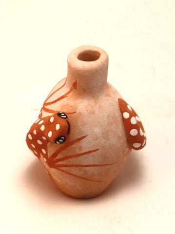 Handmade Zuni Lizard Seed Pot by Tony Lorenzo