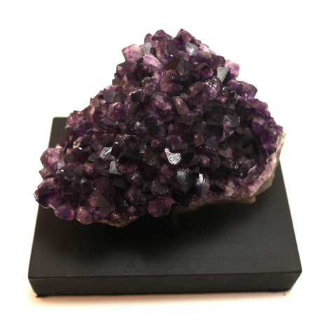Amethyst Specimen With Display Stand