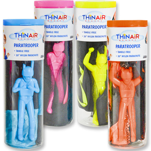 Paratrooper in Tube (4-Pack Bundle)
