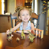 Dinosaur Safari Toy Set with Collector Cards