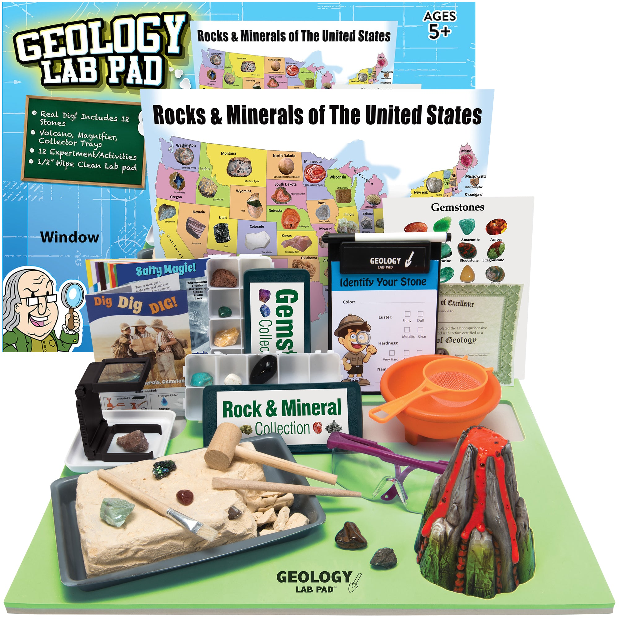 Geology Science Kit (30 Piece Set)