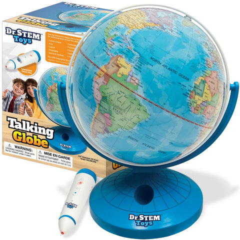 Talking World Globe with Interactive Stylus Pen and Stand