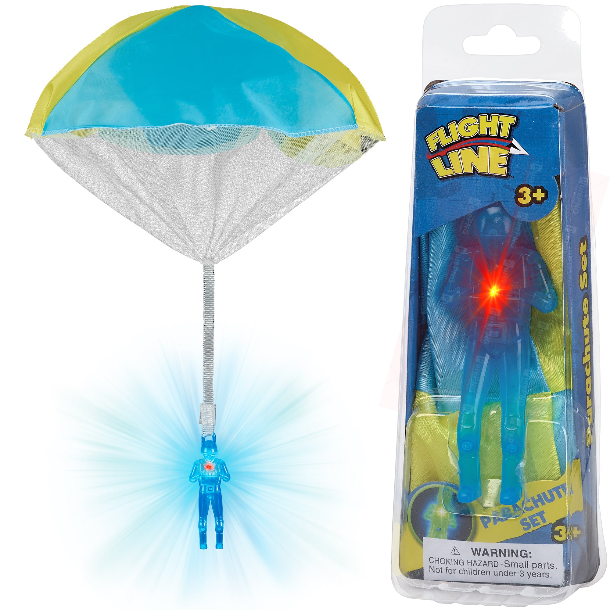 Flashing Light Paratrooper