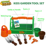 Garden Tool Set with Planters
