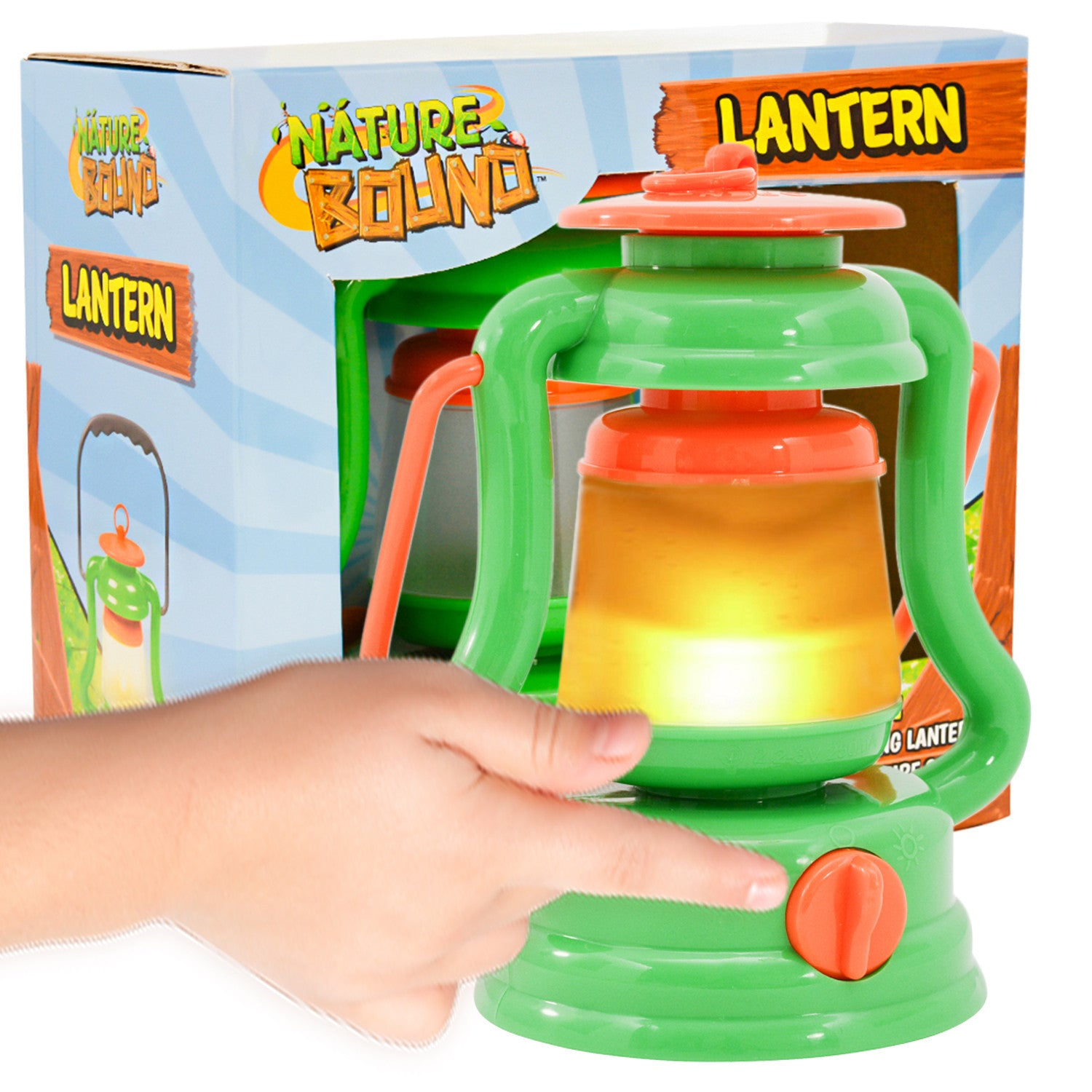 Nature Bound - Light & Sound Lantern