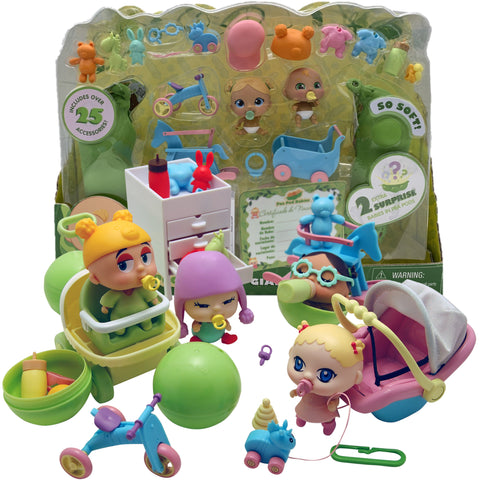 Pea Pod Babies Giant Play Set