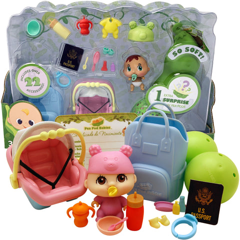 Pea Pod Babies - Little Traveler 22-PC Set