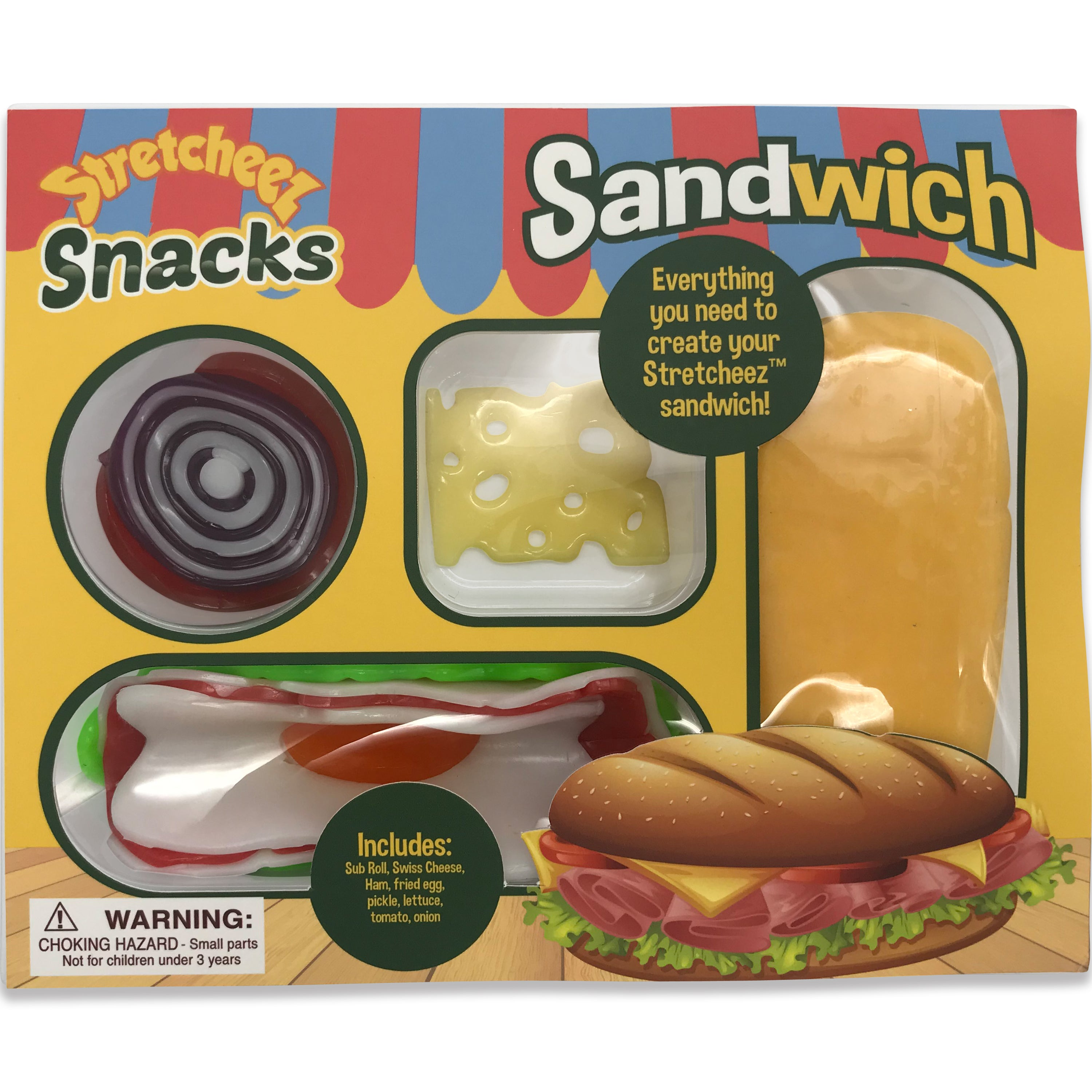 Stretcheez Snack Pack - Play Food - Single