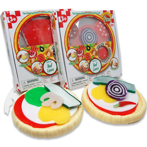 Stretcheez Pizza - Play Food - Two Pack Bundle