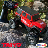 Taiyo RC Jeep Rubicon Unlimited (Red)