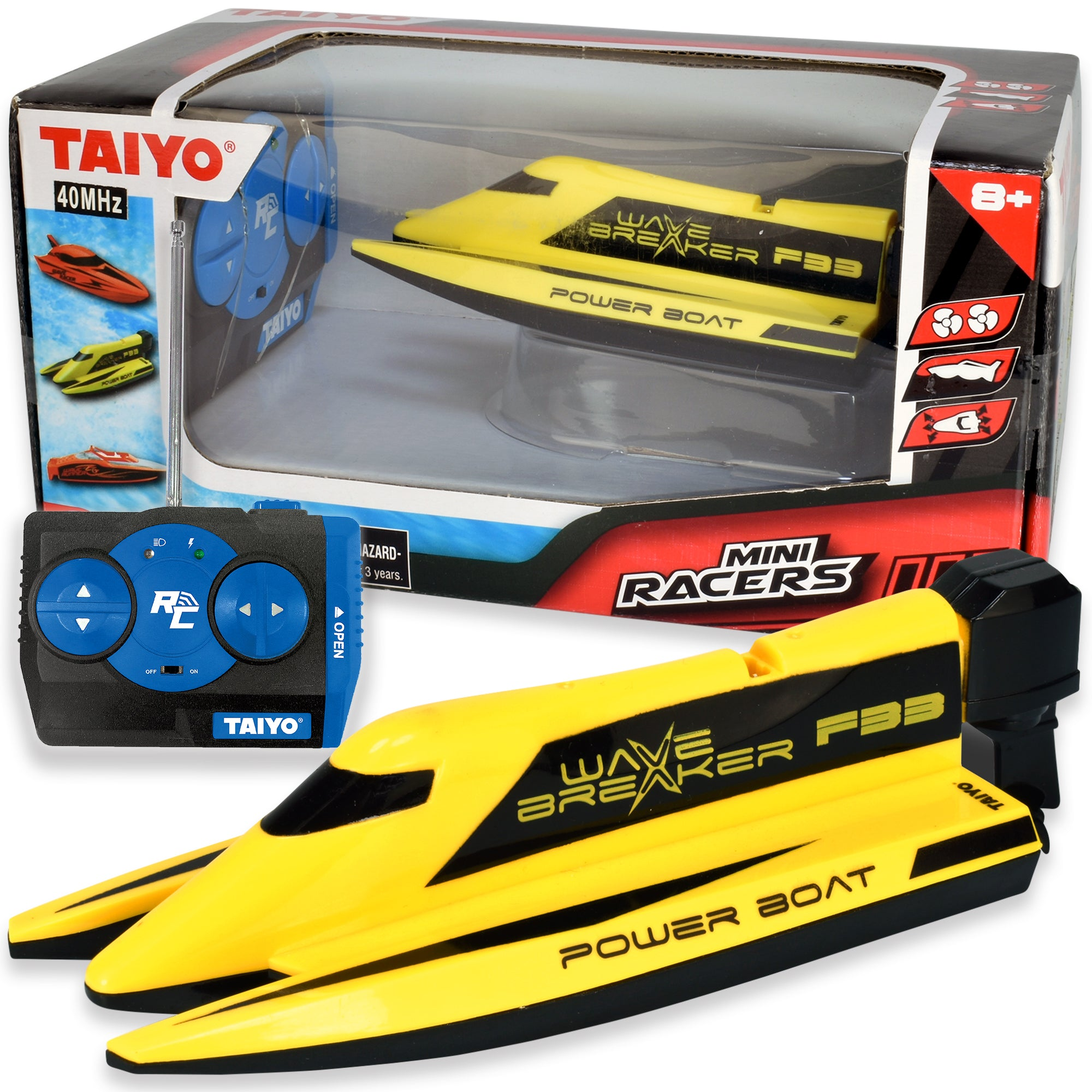 Wave Breaker - Mini RC Boat