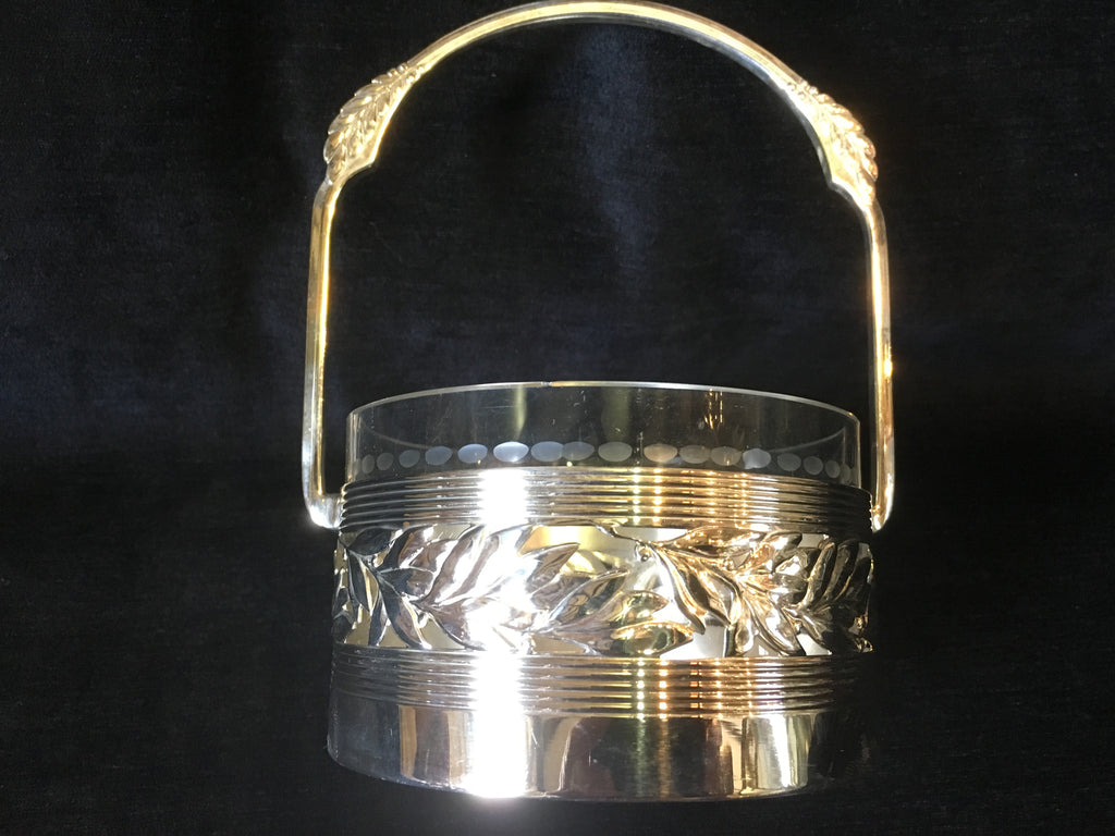 Silver Plated WMF basket with original Liner