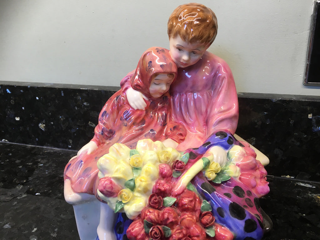 Royal Doulton Flower Sellers Children