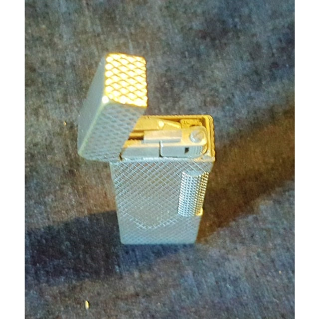 Vintage Silver Plated Dun Hill Lighter