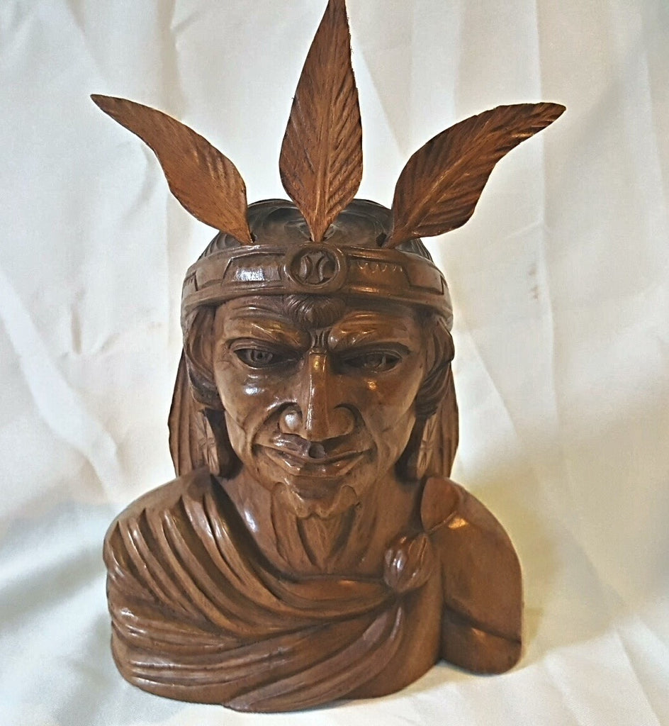 Carved Indian Head