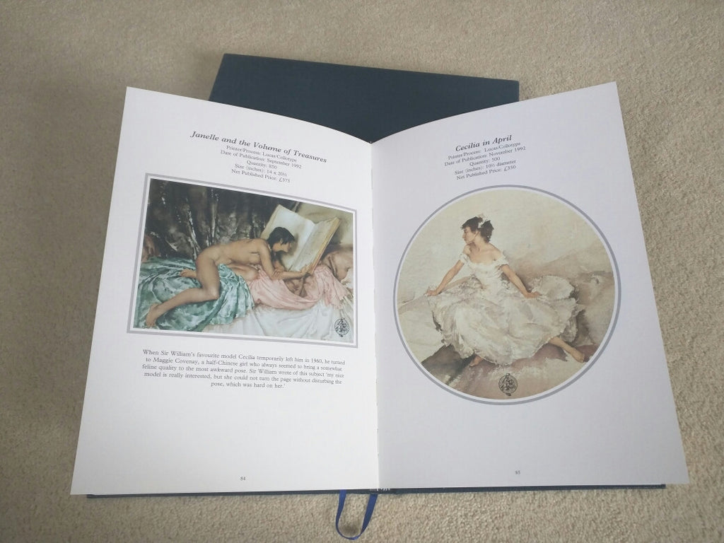 William Russell Flint Limited Edition Catalogue