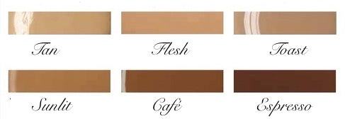 Krystle Skin Misted Veil Airbrush Foundation Colors
