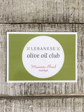The Lebanese Olive Oil Club, 3 months of olive oil