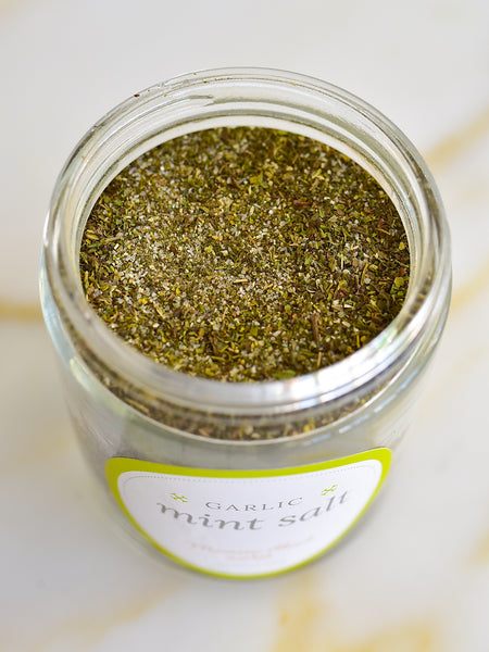 Garlic Mint Salt