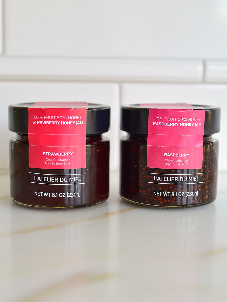 Honey Jam Set from L'Atelier du Miel