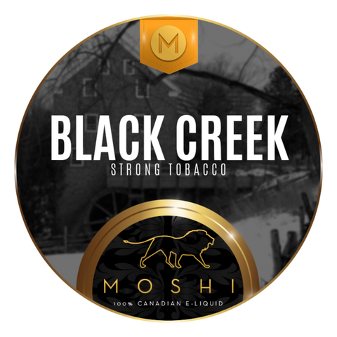 Black Creek by Moshi - Premium Canadian E-liquid