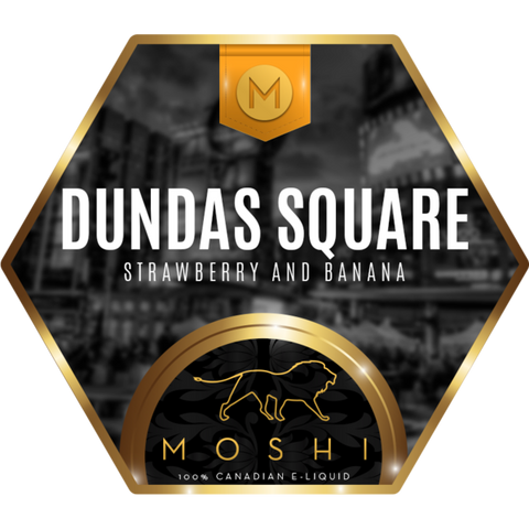 Dundas Square by Moshi - Premium E-liquid