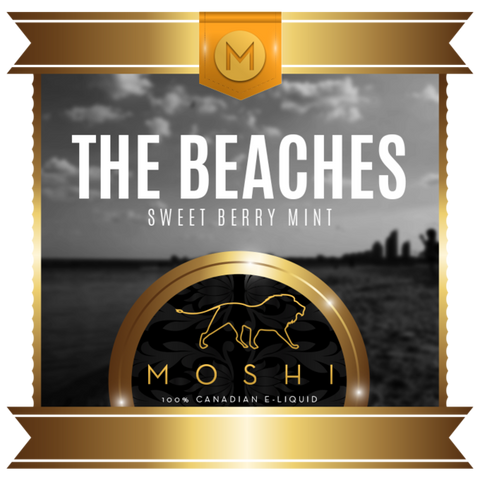 The Beaches by Moshi - Premium Canadian E-liquid