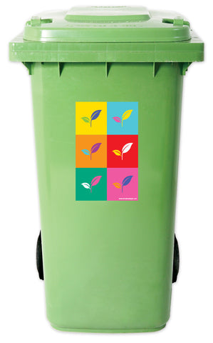 Warhol - Recycle Bin 3 Sticker Set